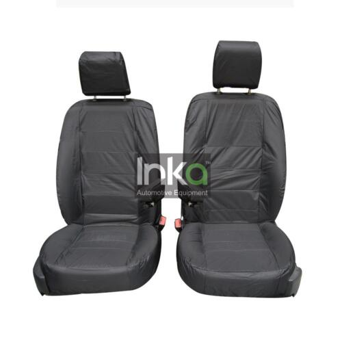 Manual Adjust Land Rover Discovery 2 RHD Front Tailored Inka Seat Covers 1+1