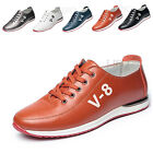 Fashion Men Breathable Lace up Casual Shoes Non-slip Sneakers Board Flats