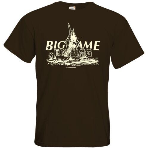 Angeln Big Game T-Shirt RAHMENLOS® Geschenke getshirts