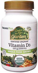 Nature-039-s-Plus-Source-of-Life-Garden-Organic-Vitamin-D3-5000iu-60-Vegi-Caps