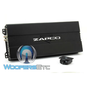 ZAPCO ST-500XM II CAR MONOBLOCK 500W RMS CLASS D SUBWOOFERS BASS AMPLIFIER NEW