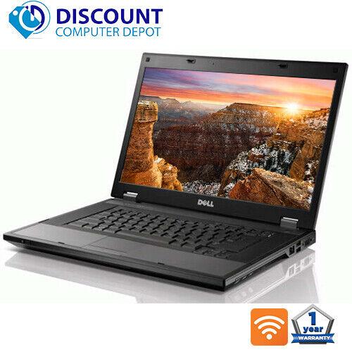 """Dell Laptop Latitude E5510 15.6"""" Computer Core i3 4GB 320GB Wifi Windows 10 PC"""