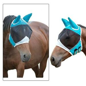 Professional-039-s-Choice-Comfort-Fit-Horse-amp-Arab-Sizes-Lycra-Fly-Mask-w-Ears