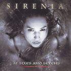 At Sixes and Sevens by Sirenia (CD, Jun-2004, Napalm Records)