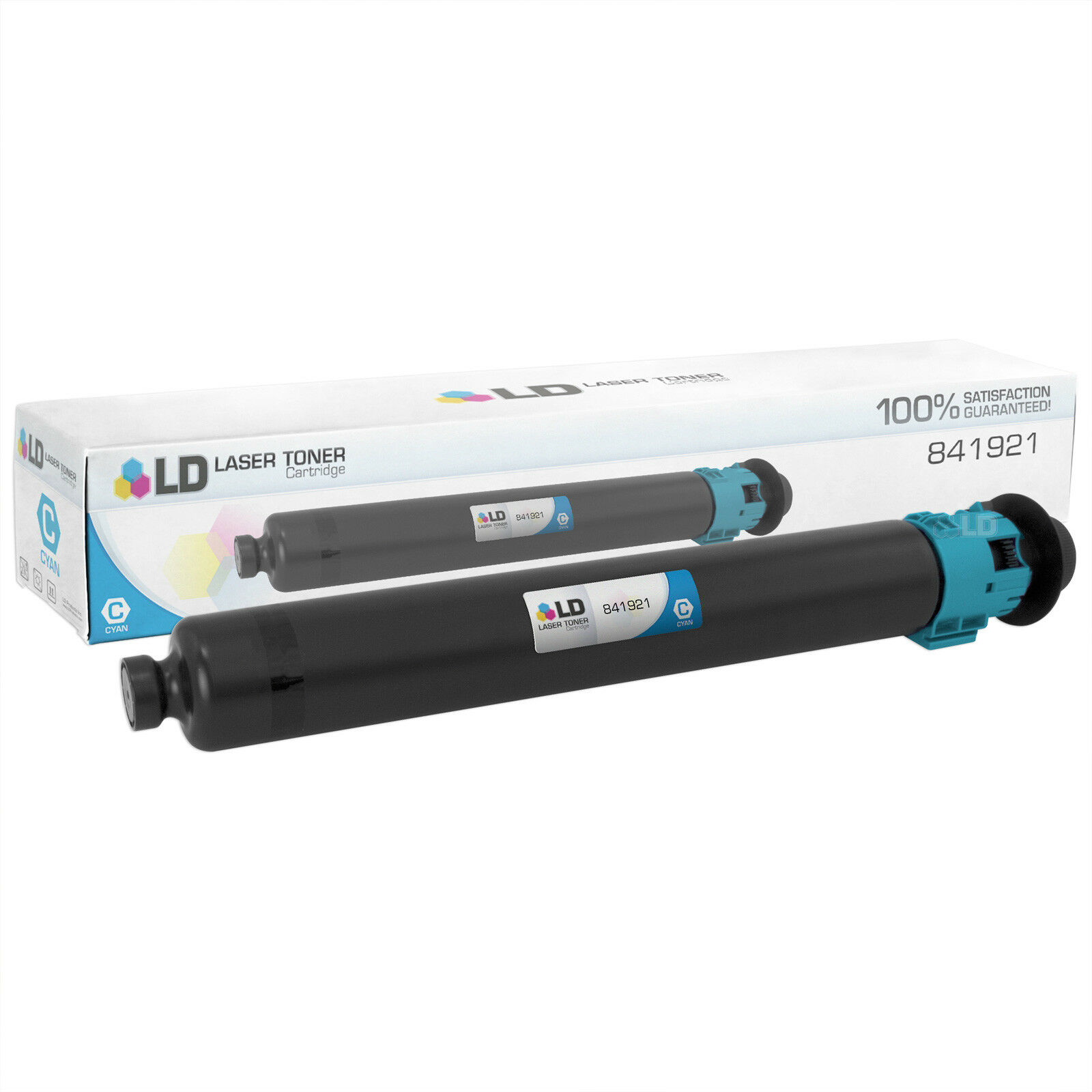 Works with: Aficio MP C2003 On-Site Laser Compatible Toner Replacement for Ricoh 841921 Cyan 2503
