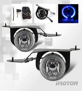 led halo for 2001 2004 nissan frontier xterra fog lights. Black Bedroom Furniture Sets. Home Design Ideas
