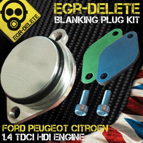 Fusion 1.4 TDCi EGR DELETE Removal kit EGR valve Blanking Plate Ford Fiesta