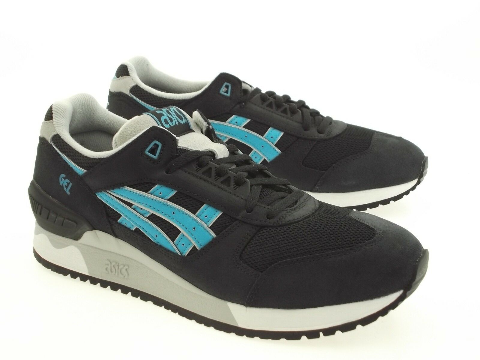 Asics Tiger Men Gel-Respector black HL505-9038 atomic blue HL505-9038 black 38acb9