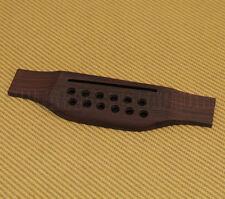 GB-0851-0RF Rosewood Oversized Acoustic 12-String Guitar Bridge w/ Saddle