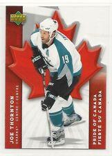 2007-08 Upper Deck McDonald's Pride of Canada - #3 - Joe Thornton - Sharks