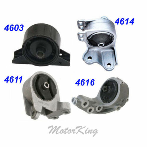 Fits 2001-2005 Dodge Stratus 3.0 Engine Motor /& Trans Mount 4PCS for Auto M045