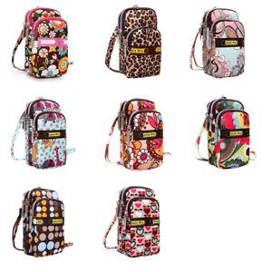 Womens-Girl-Students-Fashion-Printing-Zipper-Sport-Shoulder-Bag-Mini-Wrist-Purse