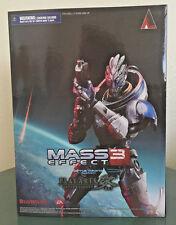 Play Arts Kai Mass Effect Garrus Vakarian Action Figure, BRAND NEW!