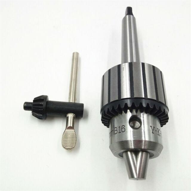 """5//8/"""" Heavy Duty Self Tighten Drill Chuck MT2 Shank Arbor Keyed Milling Tool 3-16"""