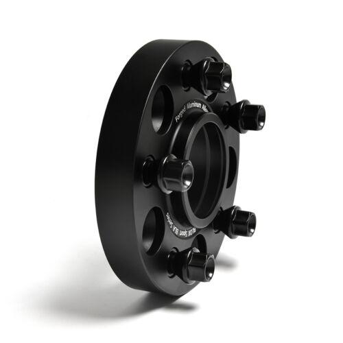 2pcs 25mm Aircraft Aluminum 5x120 Wheel Spacer for BMW E24,E63,E64,F12,F13