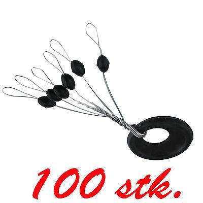 100 X Gummistopper Posenstopper Schnurstopper Größe L art 011