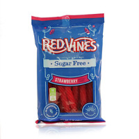 Red Vines Sugar Free Licorice Strawberry Twists 5 Oz Bags (12 Pack) Candy