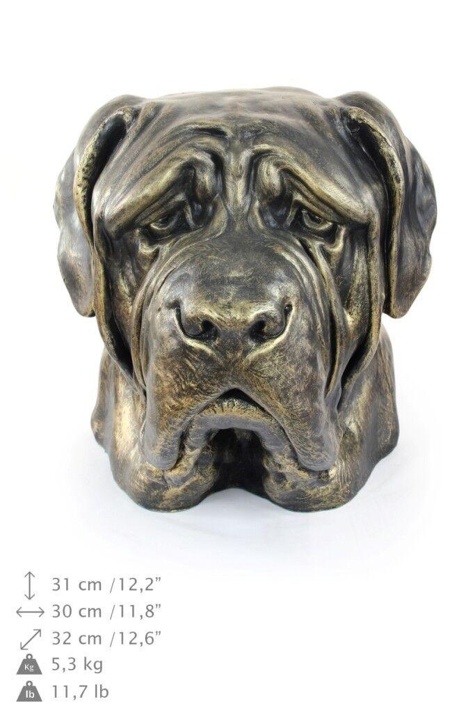 English Mastiff - dog head resin figurine, high quality, Art Dog