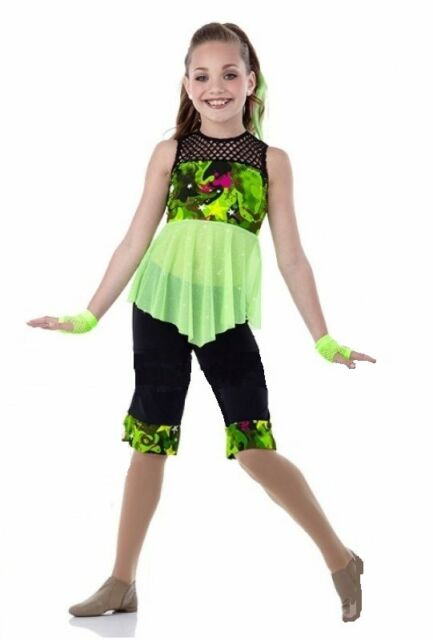 5ab936b9f Adult 3xl Lime Jazz Dance Costume How We Roll for sale online | eBay