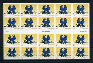 USA-Folienblatt-MiNr-118-postfrisch-MNH-Vogelpaar-Voeg1892