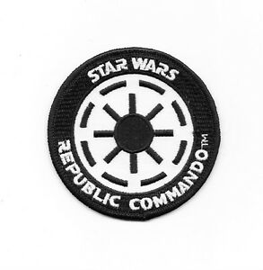 Star wars imperial republic commando logo embroidered patch new unused ebay - Republic star wars logo ...