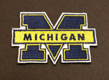UNIVERSITY OF MICHIGAN WOLVERINES PATCH SMALL