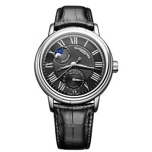 Raymond-Weil-Maestro-Automatic-Moonphase-Black-Leather-Mens-Watch-2839-STC-00209