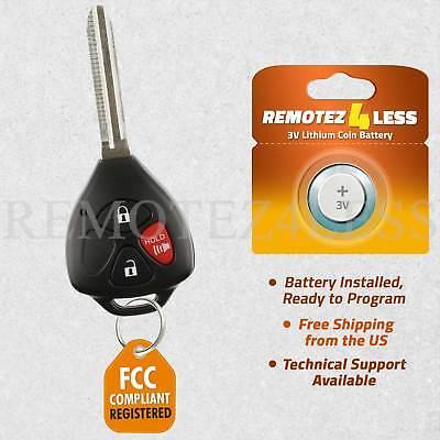 2 Car Key Fob Keyless Entry Remote Transmitter For 2009 2010 Pontiac Vibe