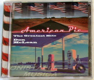 DON-McLEAN-AMERICAN-PIE-THE-GREATEST-HITS-CD-Sigillato