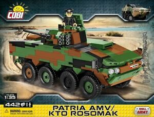 COBI-Patria-AMV-KTO-Rosomak-2616-442-Finnish-Polish-transporter-car-tank