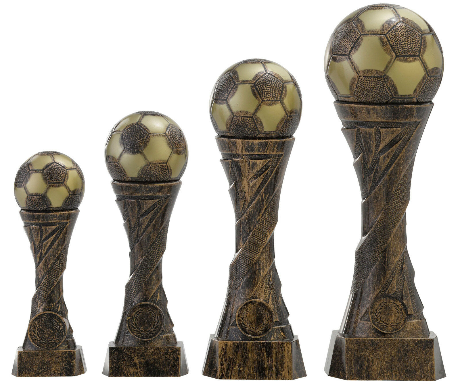 Fußball Ball Pokale Pokale Pokale 8er Serie Kinder Trophäe Figur Pokal Turnier mit Gravur c162 d47928