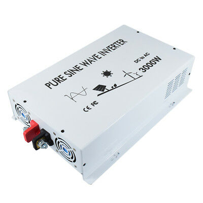 Alternative & Solar Energy Faithful 3000w Pure Sine Wave Inverter 12/24v Dc To 120v/220v Ac Solar Generator Inverter