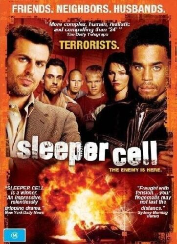 1 of 1 - Sleeper Cell : Series 1 (DVD, 2006, 4-Disc Set) Brand New, Genuine & Sealed (D44