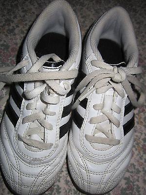 Kinder Sportschuhe US Größe K13 (31) weiß adidas