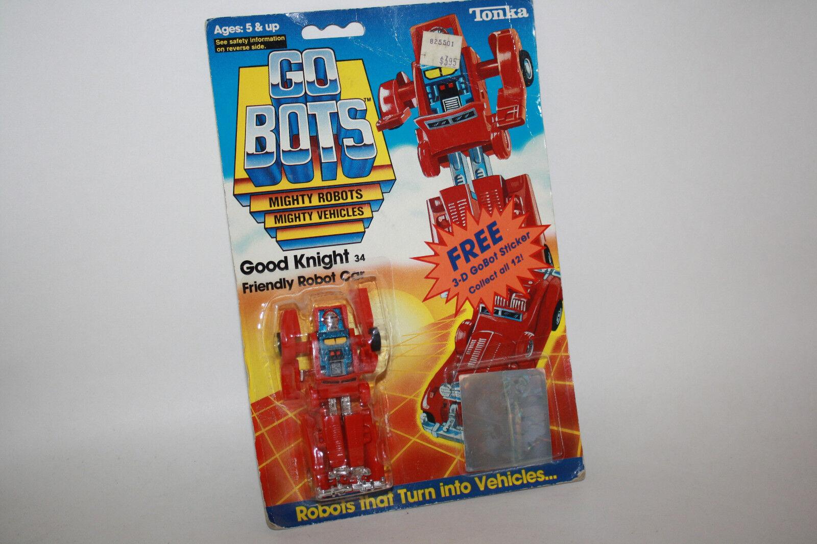 Vintage Tonka GoBots Good Knight Friendly Robot Car 34 MOC - R614