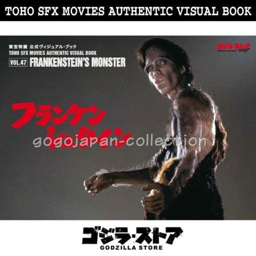 GODZILLA STORE TOHO SFX MOVIES AUTHENTIC VISUAL BOOK VOL.47 FRANKENSTEIN