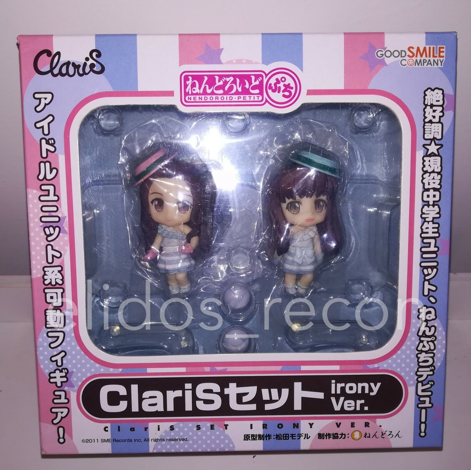 ClariS Alice Clara Nendoroid Petit Irony Irony Irony version Good Smile Company PVC NO CD 75432a