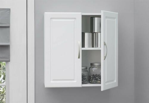 "24/"" Laundry Room Cabinet Kitchen Cabinets Bathroom Wall Mount Storage Shelf Unit"
