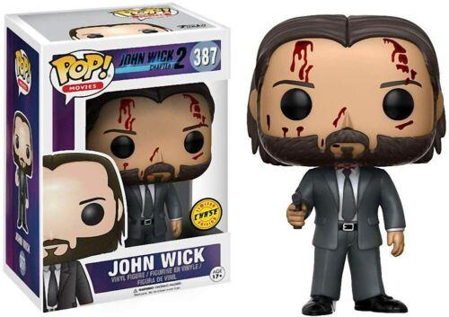 John Wick 387 12535 Movies: John Wick In stock Funko POP Chase