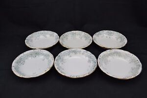 Wm-Co-WIllets-Transferware-Empress-Set-of-6-Berry-Bowls