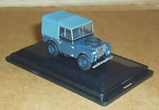"""OXFORD DIECAST LAND ROVER SERIES 1 80"""" CANVAS RAF 1:76 SCALE MODEL CAR VEHICLE"""