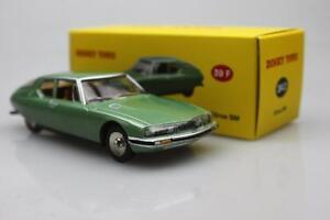 Atlas-green-Dinky-toys-1-43-Citroen-SM-1970-Alloy-car-model-24-O