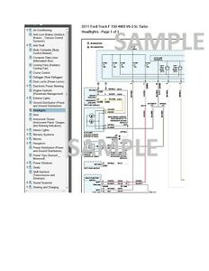 Ford F-150 2011 11 Complete Color Wiring Diagram Schematic 3.5L Turbo pdf |  eBay | Ford F Series Wiring Diagram |  | eBay