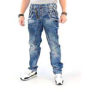 Cipo-amp-Baxx-c-amp-b-c1199-Pantalones-vaqueros-hombre-azul-midblue-14439