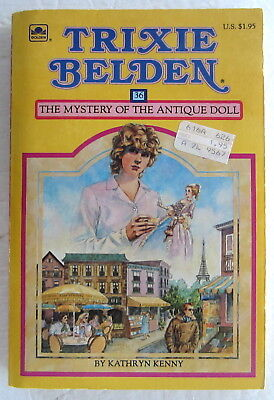 Trixie Belden #36 Mystery of the ANTIQUE DOLL Kathryn Kenny Paperback Book