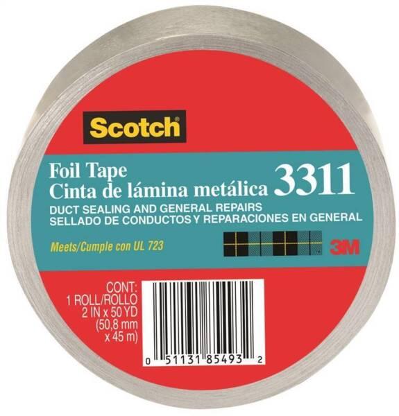 SCOTCH FOIL TAPE 2INX50YD