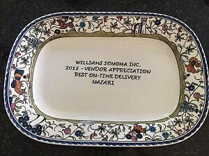 Image Is Loading Unique Collectible Williams Sonoma Provence Rectangular Serving Platter