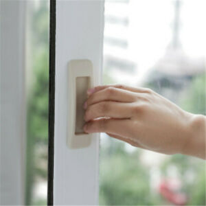 Details About Window Security White Black Kitchen Door Pulls Cabinet Drawer Handle S