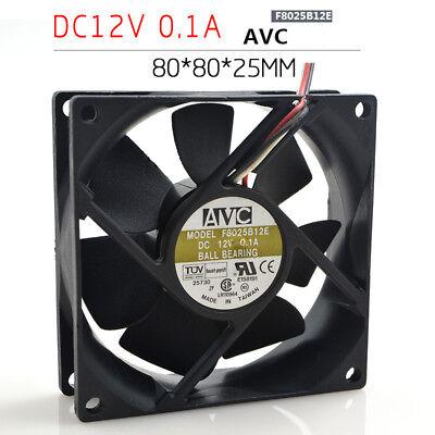 1PC  AVC DATB0825B2S 12V 0.84A  8cm