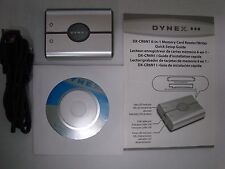 Dynex 6-in-1 Memory Card Reader/Writer with CD and USB Cable DX-CR6N1